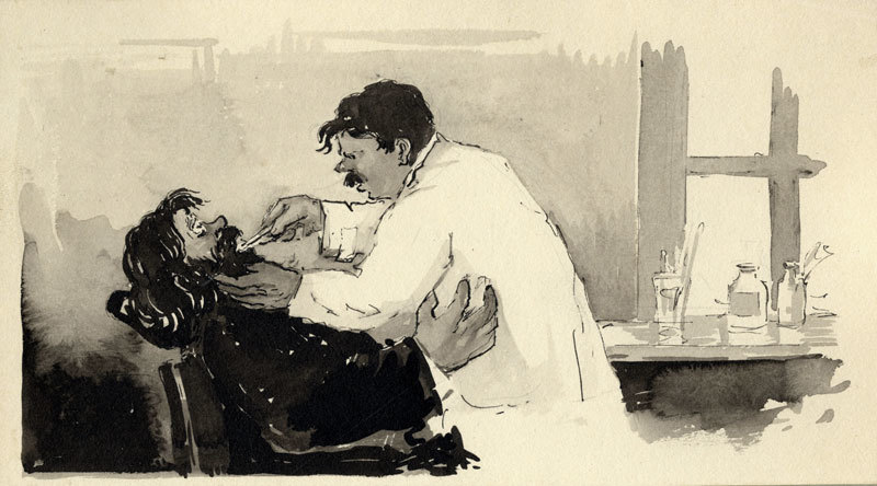 простуда или чехов рассказ хирургия картинка каком другом
